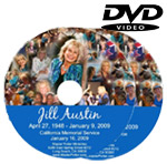 California Memorial Service DVD